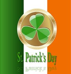Decor ireland culture leprekon leaf mart celebrati vector
