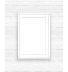 Poster frame design template vector