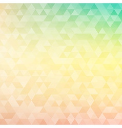 Triangle patterned geometric background vector