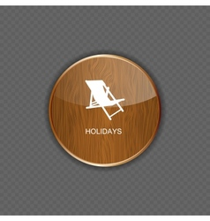 Holidays application icons vector