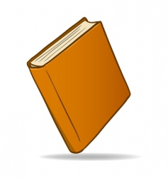 Cartoon book vector