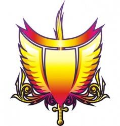 Heraldry emblem vector