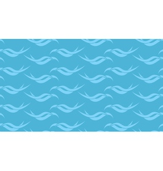 Light blue wavy seamless texture vector
