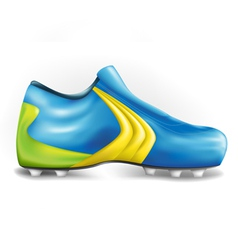 Football shoe vector