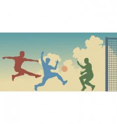 Goalmouth action vector
