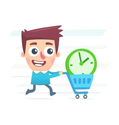 Buy extra time vector