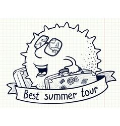 Best summer tour vector
