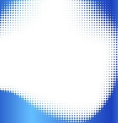 Abstract halftone frame vector