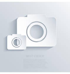 Camera icon background eps10 vector
