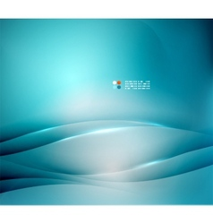 Blue blurred colors abstract background vector