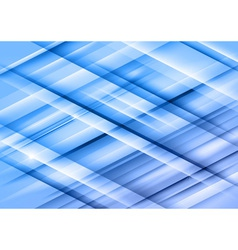 Abstract lines blue cross full vector