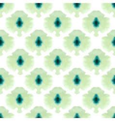 Seamless water color mosaic pattern vector
