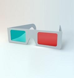 3d glasses vector