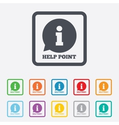 Help point sign icon information symbol vector