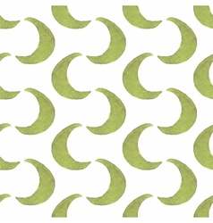 Pattern of goloden crescent seamless pattern in vector