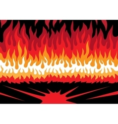 Fire abstract vector