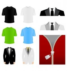 Fashionable clothes vector
