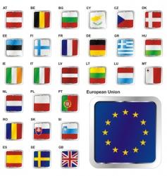 European union states set vector