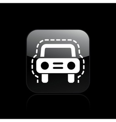 Vehicle insurance protection vector