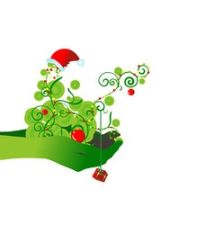 Chrismas backdrop vector