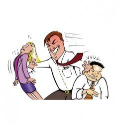 Office bully vector