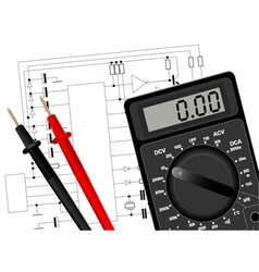 Digital multimeter 3 vector