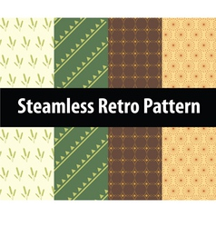 Steamless retro pattern vector