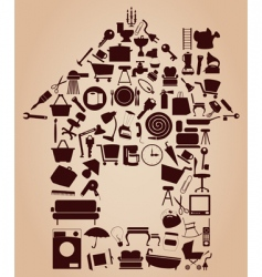 House graphics vector