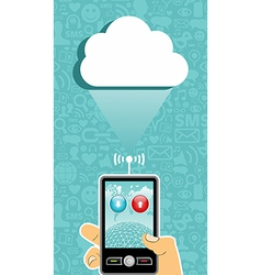Cloud computing communication vector