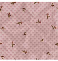 Vintage pattern with plums vector