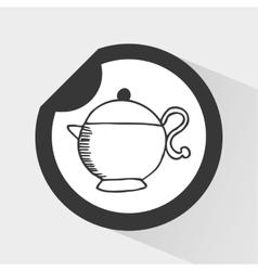 Coffee icon vector
