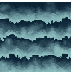 Blue pixel waves backdrop vector