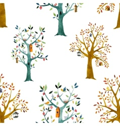 Cartoon forest vector