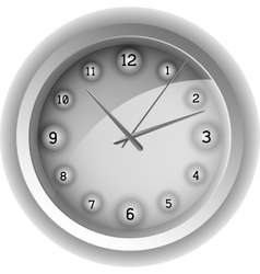 Analog clock vector