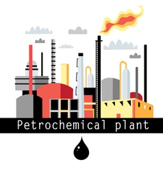 Petrochemical plant vector