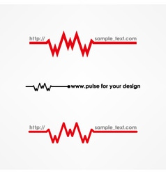 Www pulse concept vector