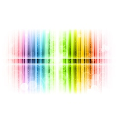 Vertical lines abstract rainbow vector