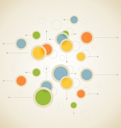 Abstract spheres vector