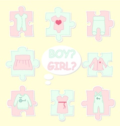Clothes-for-baby vector