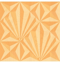 Wood carving geometric background vector