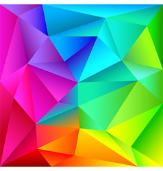 Colorful geometric shapes pattern vector
