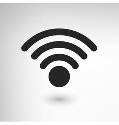 Creative wifi icon vector