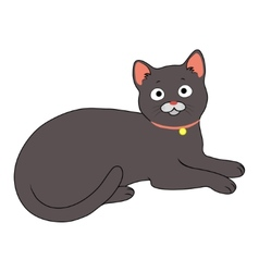 Charming cat vector
