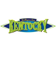 Kentucky the bluegrass state vector