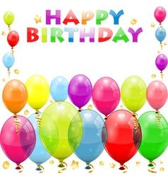 Birthday frame vector