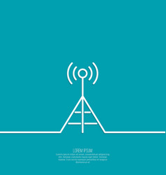 Radio antenna vector
