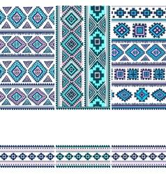 Tribal vintage ethnic banners vector