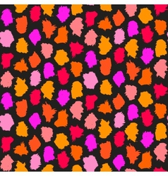 Hand drawn pattern with short brush strokes vector
