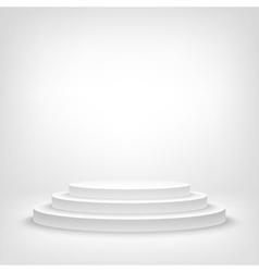Stage podium award ceremony 3d show pedestal best vector