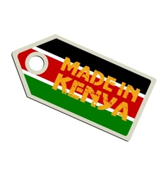 Made in kenya vector